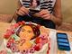 """高嶋ちさ子の""""感じが悪い顔""""を描いたケーキが爆誕 本人もノリノリで同じ顔を再現してしまうサービス精神発揮"""