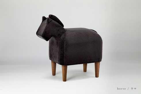 背中に乗りたい 動物 スツール 椅子 大阪富田林 家具工場 ゾウ 犬 馬 かわいい