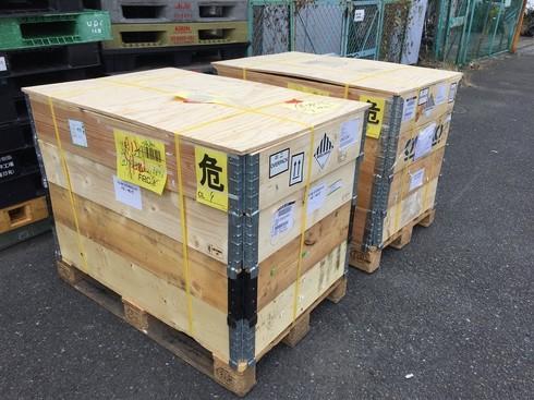 シュールストレミングが梱包されている箱