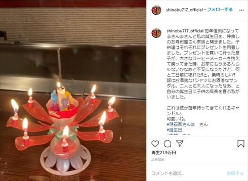 大竹しのぶ 明石家さんま 誕生日