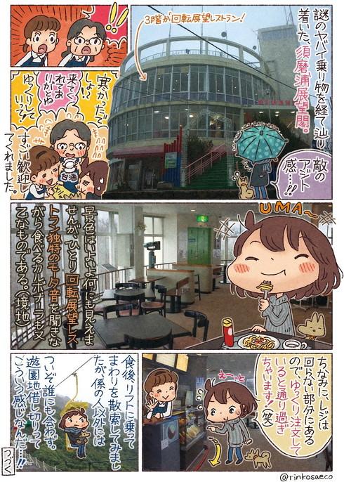 須磨浦山上遊園 回転レストラン