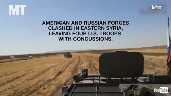 シリア 米軍 ロシア軍