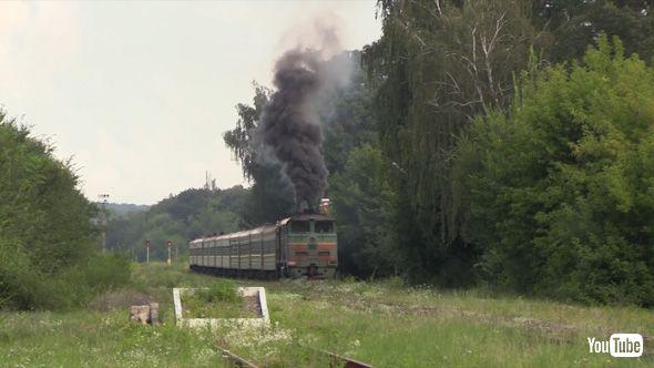 鉄道 海外 YouTube ロシア モルドバ ソ連 ディーゼル機関車 SL