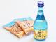 浪花屋の柿の種に合うお酒が9月16日に発売 柿の種のうまみと辛さにピッタリな辛口の吟醸酒