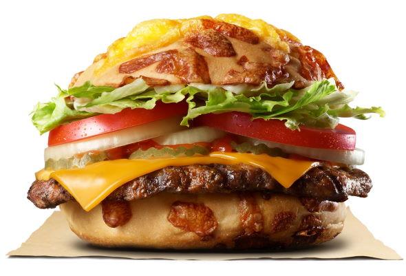 バーガーキング チーズアグリービーフバーガー 見た目 捨てた 味