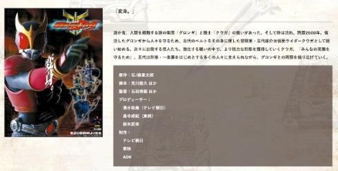 仮面ライダークウガ 平成仮面ライダーシリーズ第1弾