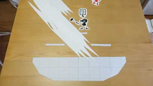 ダイニングテーブル スマブラ コマ撮り アニメ 再現 Mr.ゲーム&ウォッチ