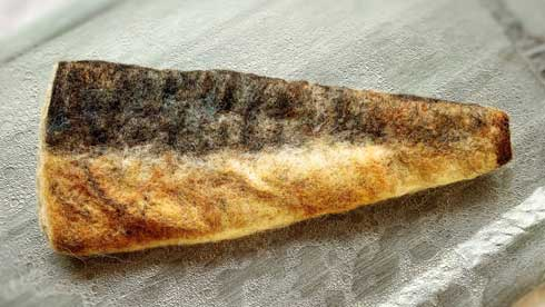 羊毛フェルト 食べ物 リアル フード 鮭 鯖 焼き魚 ハンドメイド