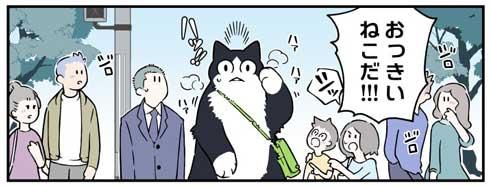 ブラック企業の社員が猫になって人生が変わった話 清水めりぃ モフ田 漫画 第3部 ハチくん