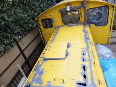 自宅 機関車