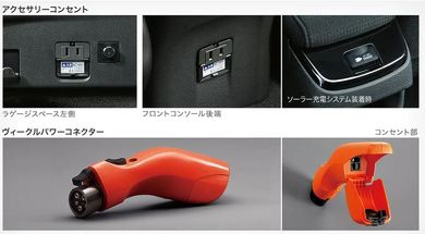 100V コンセント クルマ