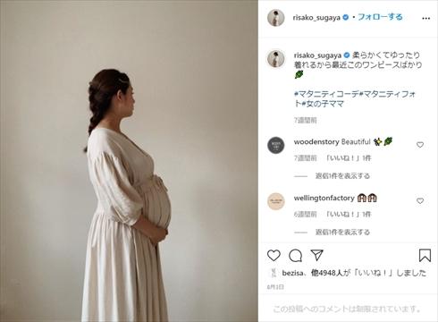 菅谷梨沙子 Berryz工房 次女 第2子 出産 インスタ 長女 娘