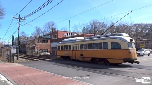 鉄道 海外 YouTube アメリカ 路面電車 トラム レトロ