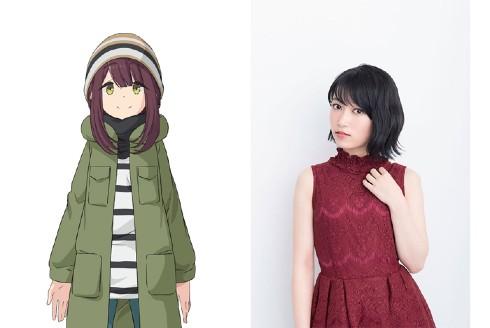 ゆるキャン△ SEASON2 イメージビジュアル 各務原なでしこ 土岐綾乃 浜松