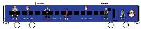 鬼滅の刃 JR九州 コラボ キャンペーン ラッピング 無限列車編