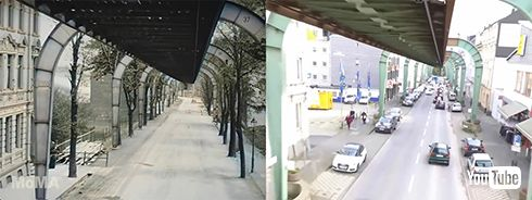 鉄道 海外 YouTube ドイツ モノレール
