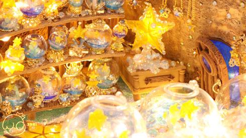 ミニチュア きれい かわいい お店 ハンドメイド 架空の街 小さな夢の街 39Ri