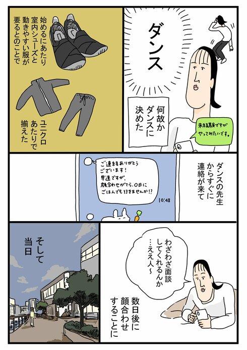 ツボウチさんダンスを習うの巻02