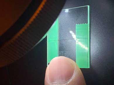 ナノ3Dプリンタ 印刷 極小 戦艦大和 髪の毛 小さい 見えない