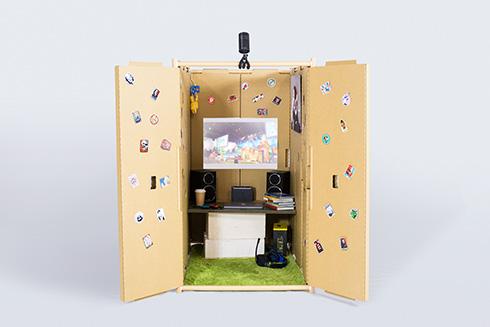 自分だけの小部屋がおしゃれで便利そう 20分で組み立てできる「ROOM CRAFT」がクラファンに登場