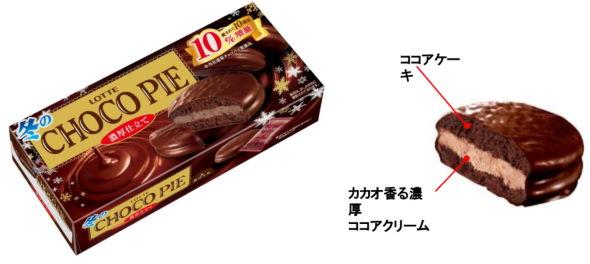 ロッテ 冬のチョコパイ アイス