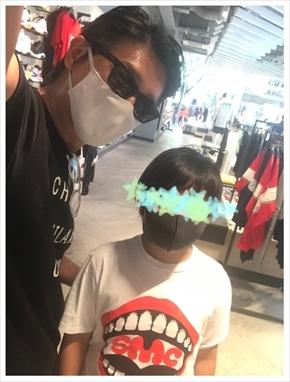 高橋克典 息子 長男 チビ克 運動会 ブログ