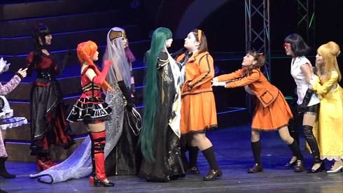 キューティーハニー 舞台 上西恵 佐藤日向 西葉瑞希 池松愛理 平塚日菜