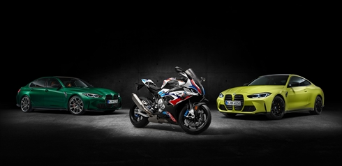 BMW「M1000 RR」(写真:BMW、以下同)