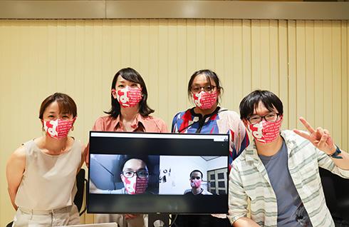 1枚から注文OK! ラクスルがオリジナルデザインの抗菌仕様マスクを取扱開始