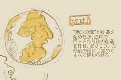 娘の妄想 設定 図解 イラスト 壮大 巨人 リボン人 物語