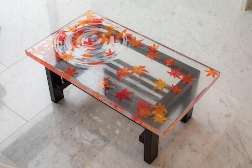 紅葉テーブル