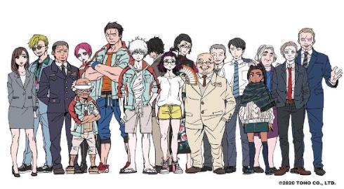 ゴジラ S.P <シンギュラポイント> テレビアニメ キャラクターデザイン原案 加藤和恵