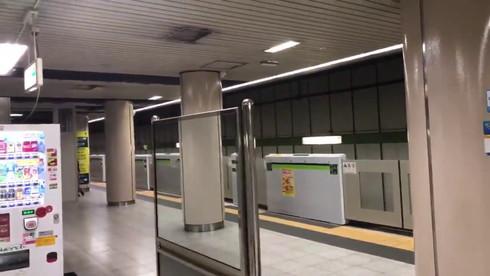 地下鉄 鏡 光学迷彩