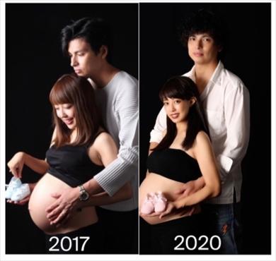 川崎希 マタフォト アレクサンダー おちびーぬ 第2子 妊娠 出産 息子 子ども ブログ