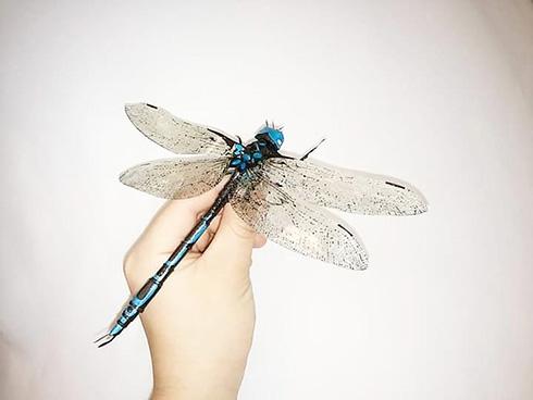 元気に動いていそうな紙の生き物 昆虫や水生生物の躍動感がすごい