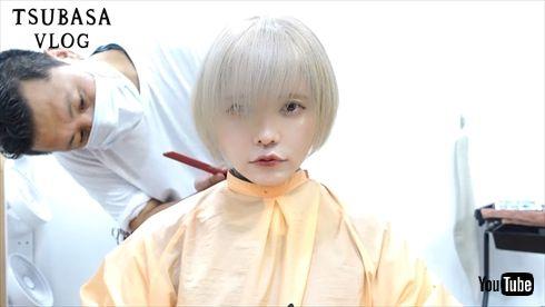 益若つばさ 金髪 ショート ヘアスタイル 髪形 インスタ YouTube