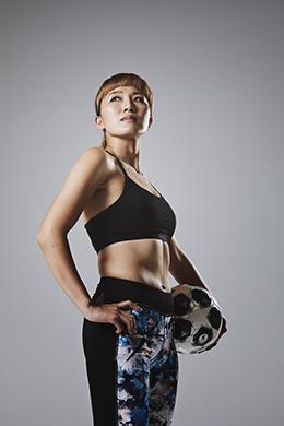 丸山桂里奈 サッカー日本代表
