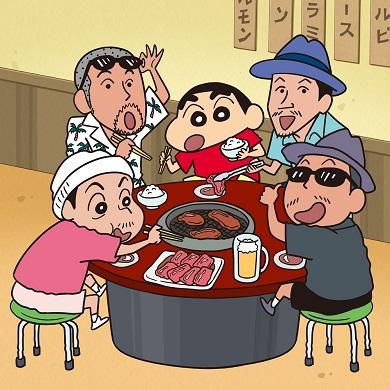 ケツメイシ スーパースター クレヨンしんちゃん