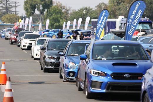 SUBARU ギネス世界記録 スバル パレード