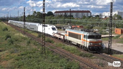 鉄道 動画 YouTube フランス TGV