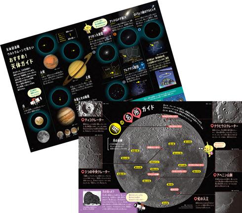 『天体望遠鏡ウルトラムーン』添付のガイドブック