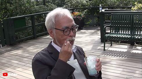 宮崎駿 監督 ジブリ 美術館 カフェ リニューアル メニュー 試食 動画 YouTube 三鷹