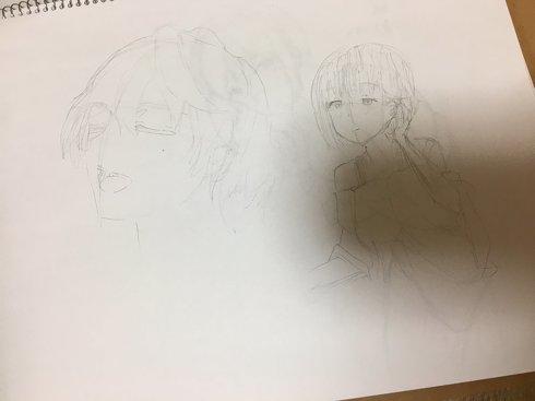 描き始めのころの絵