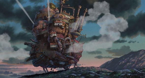 スタジオジブリ 場面写真 追加 ハウルの動く城 もののけ姫