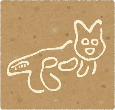 ナスカの地上絵ネコ
