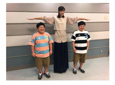 大林素子 ザ・たっち 身長 有田プレビュールーム