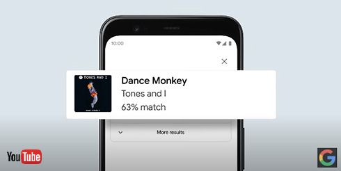 Google、ハミングや口笛での楽曲検索を発表 Android版は日本語含む20カ国語で提供開始