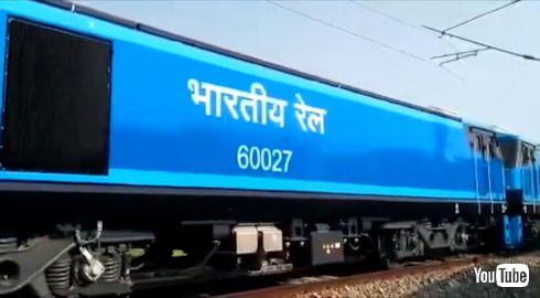 鉄道 海外 YouTube インド フランス 電気機関車