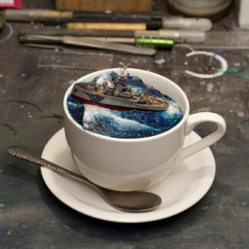 コーヒーカップ軍艦