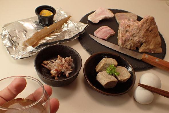 石 飯テロ 鉱石 懐石料理